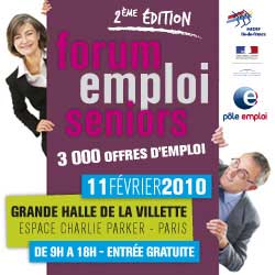 Forum Emploi Seniors Paris